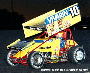 Dave Blaney action shot